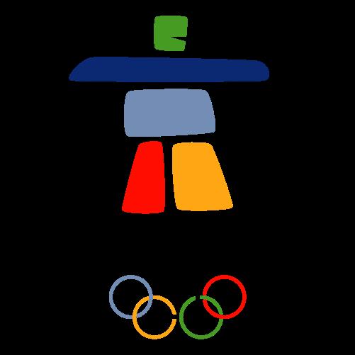 Logo olympijských her ve Vancouveru