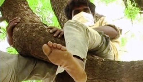 Potrestaný konzument nelegálního alkoholu v indickém Siddhápuru