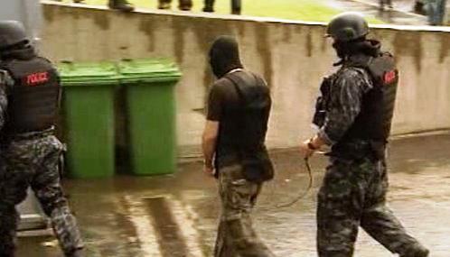 Zatčení maďarských extremistů