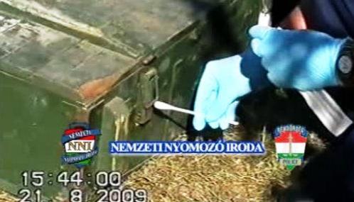 Maďarská policie zajišťuje stopy