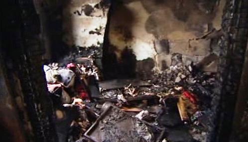Žhářský útok na maďarské Romy