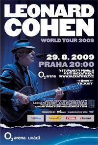 Koncert Cohena v O2 areně
