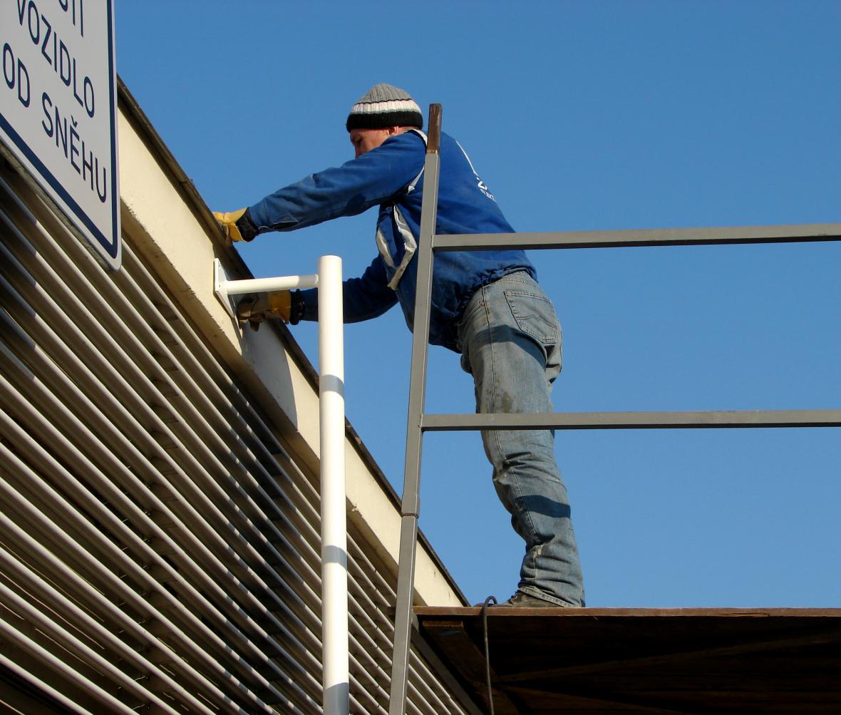 Pracující dělník