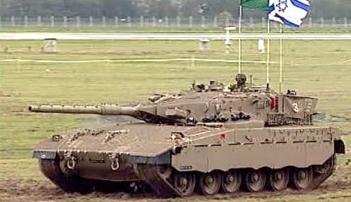 Izraelský těžký tank Merkava