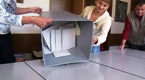 Sčítání hlasovacích lístků