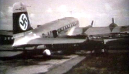 Německé letadlo