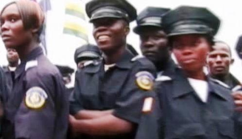 Liberijské policistky