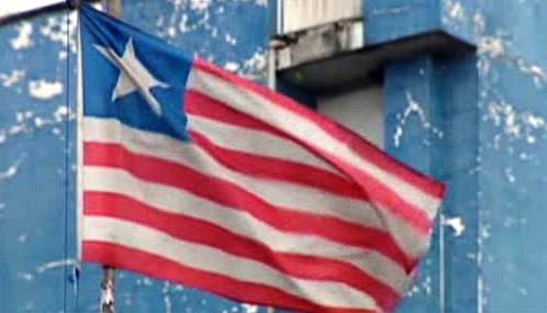 Liberijská vlajka