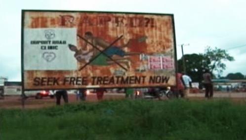 Boj proti násilí na liberijských ženách