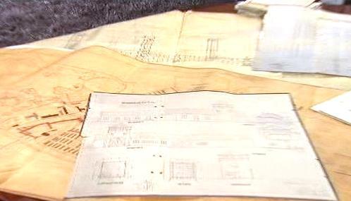Plány koncentračního tábora v Ovětimi