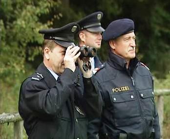 Česko-rakouská policejní hlídka