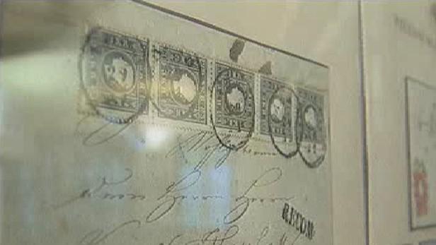 Nejstarší poštovní známka
