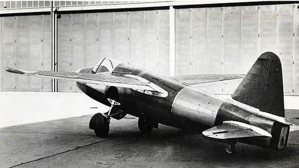Tryskové letadlo Heinkelem He-178