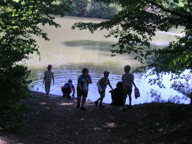 Výlet Dětského klubu k rybníku Vlkov