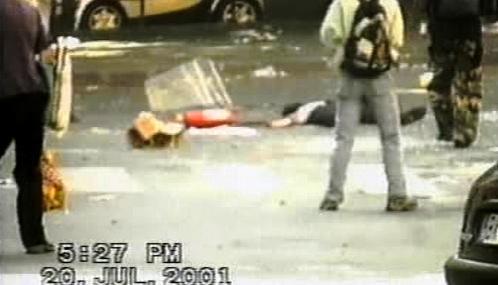 Oběť policejního zásahu v Janově