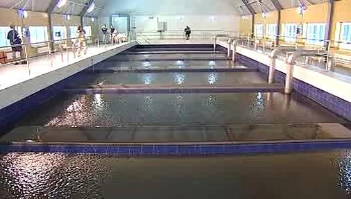 Interiér soušské úpravny vody