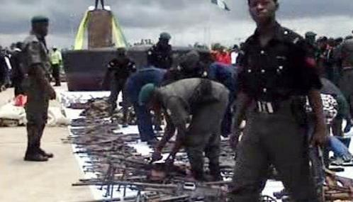 Zbrojní amnestie v Nigérii