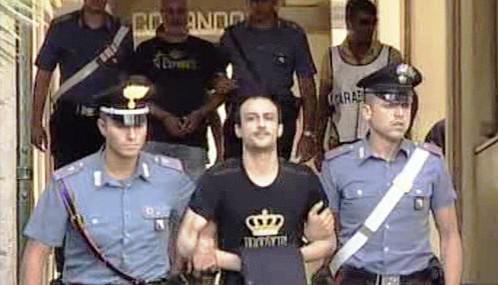 Zatčení Giuseppeho Bastona