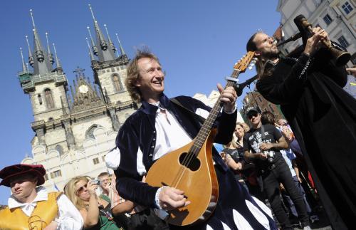 Oslavy připomínající výročí úmrtí rabiho Löwa