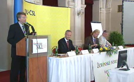 KDU-ČSL a Žofínské fórum