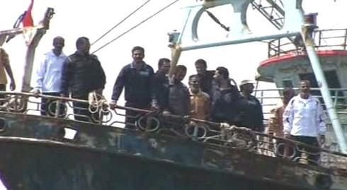 Osvobození egyptští rybáři