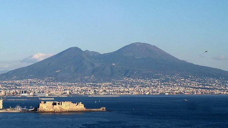 Vesuv - Pompeje