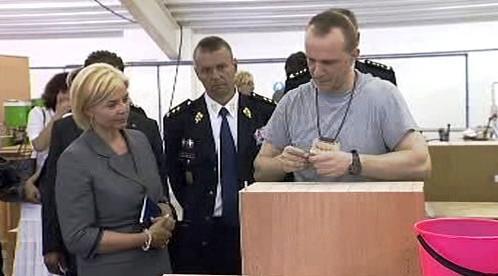 Daniela Kovářová v mírovské věznici
