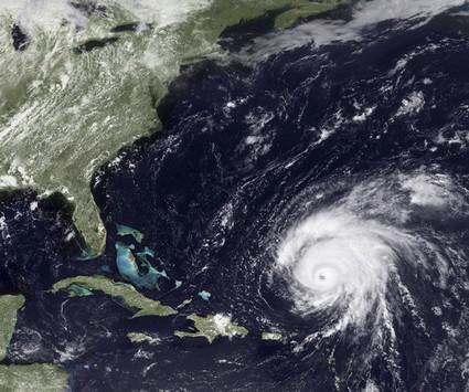 Hurikán Bill se blíží