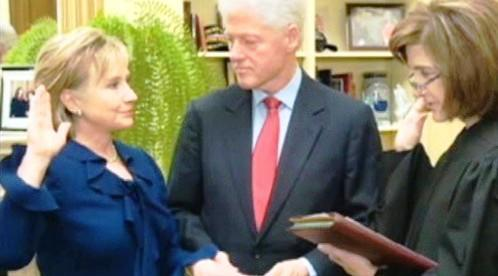 Hillary Clintonová a Bill Clinton