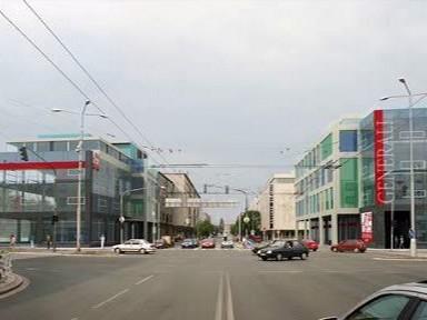 Původní studie administrativního centra v Hradci Králové