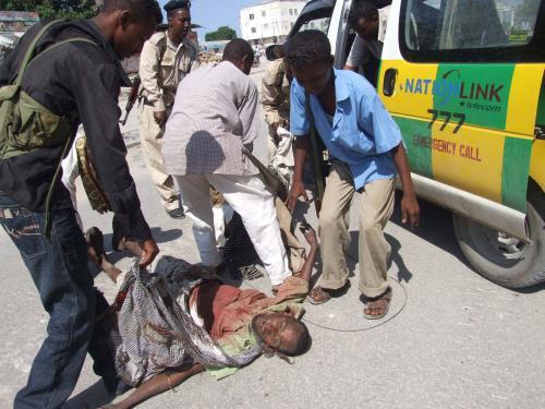 Oběť nepokojů v Somálsku