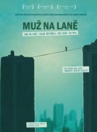 Muž na laně - plakát