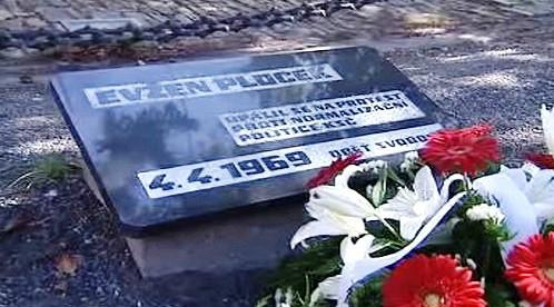 Pomník Evžena Plocka