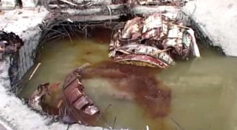 Následky exploze v Sajansko-šušenské elektrárně