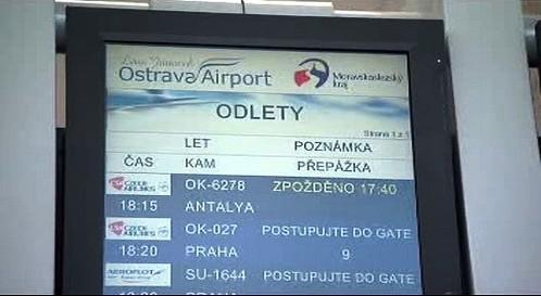 Opožděný let do Turecka