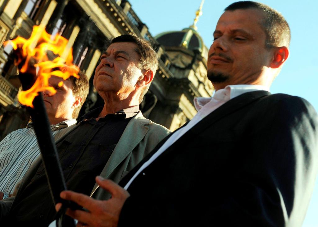 ODS zapaluje Vatry proti okupaci