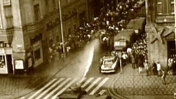 Protestní akce v srpnu 1969