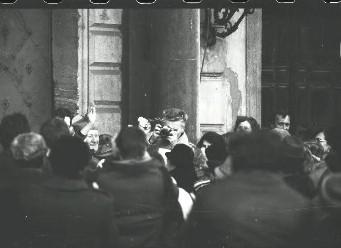 Kardinál František Tomášek na fotografii StB