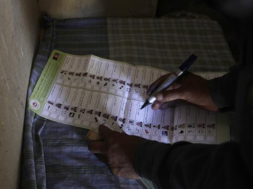 Volby v Afghánistánu