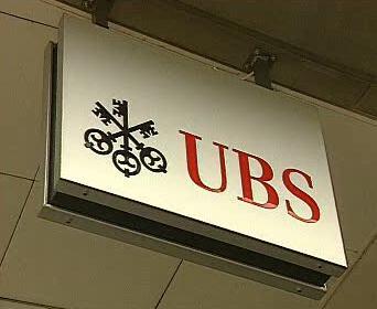 Logo banky UBS