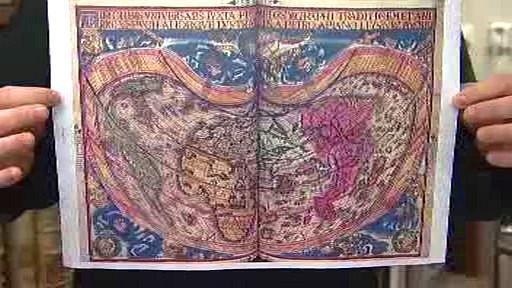Kopie vzácné mapy
