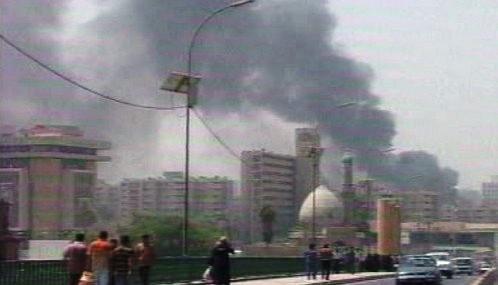 Pumový útok v Bagdádu