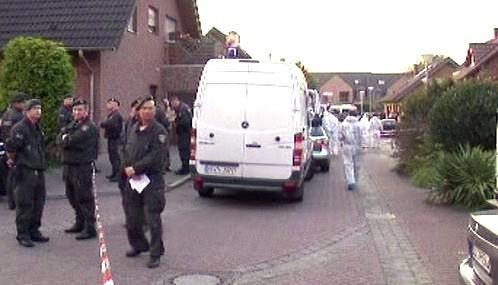Němečtí policisté a záchranáři