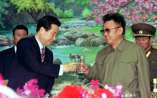 Setkání Kim Te-džunga a Kim Čong-ila