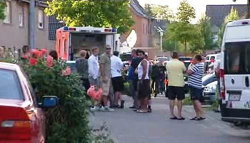 Zásah před domem v německém Schwalmtalu