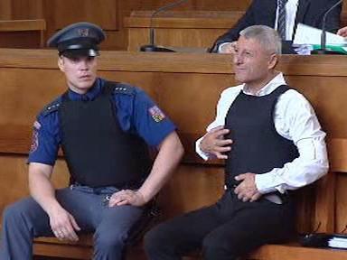 Bohumír Ďuričko u soudu