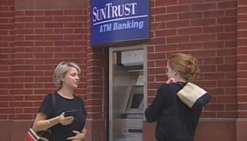 Čerpání bankovních kont