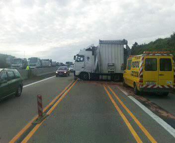 Havárie kamionu
