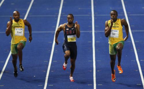 Hvězdné trio sprinterů