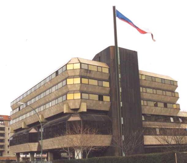 Budova českého velvyslanectví v SRN